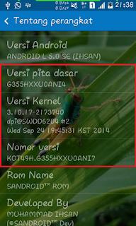 Custom Rom SANDROID  Buat SAMSUNG GALAXY 2