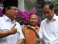 Prabowo Menolak Saat Ditawari Jadi Cawapres Oleh Jokowi