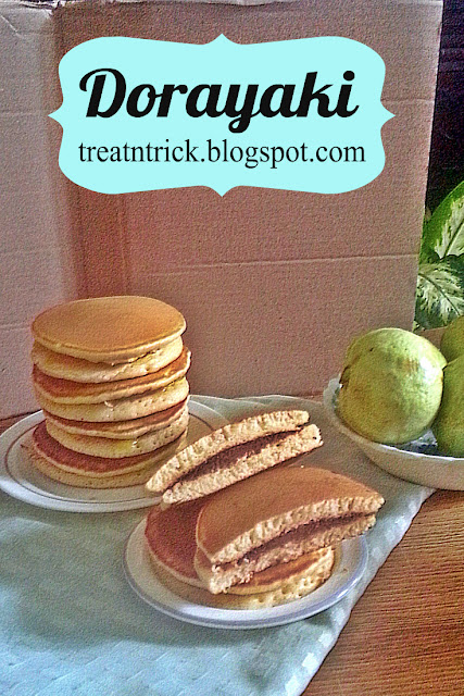 Dorayaki Recipe @ treatntrick.blogspot.com