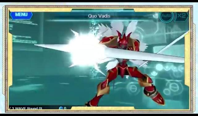 Second screenshot from Digimon Linkz English Trailer