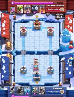 Arena Baru Clash Royale Frozen Peak