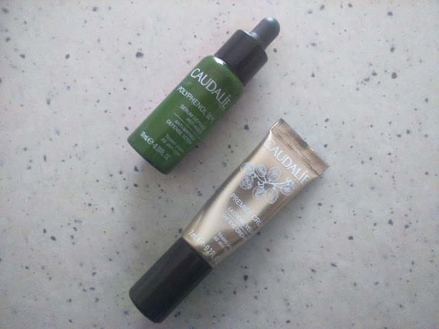 Caudalie Polyphenol C15 Anti-Wrinkle Serum and Premier Cru The Eye Cream