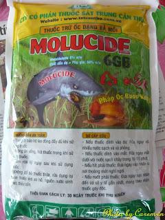 Thuốc trừ ốc Molucide 6GB