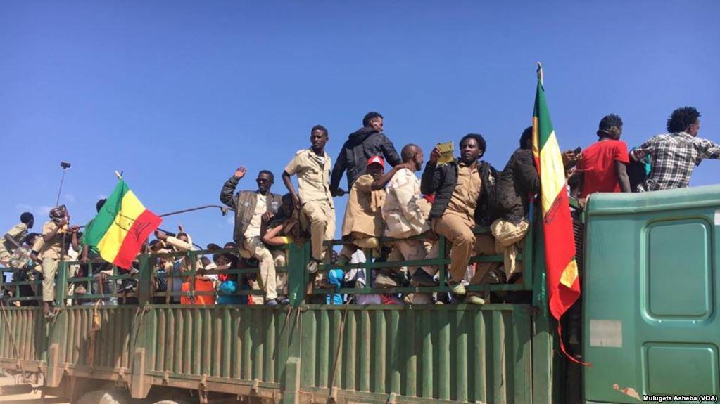 <Over 2,000 Eritrea-based Ethnic Tigray rebels return to Ethiopia