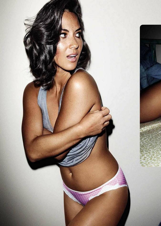 Olivia Munn braless for FHM South Africa, February 2012