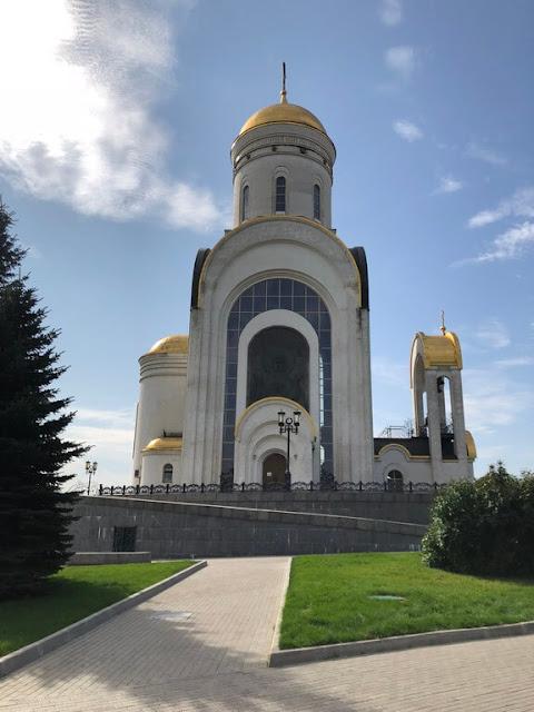 Igreja de São Jorge - Parque da Vitória em Moscovo