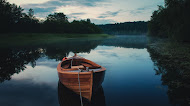 Nature Lake Landscape,wallpaper,boat