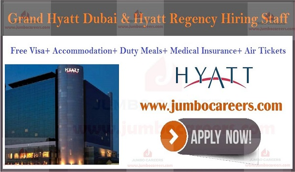 Hotel jobs in Dubai, Gulf hotel jobs with salary and benefits,