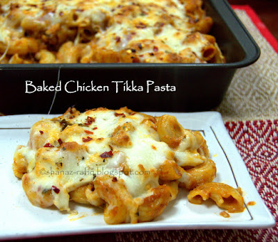 Baked Chicken Tikka Pasta