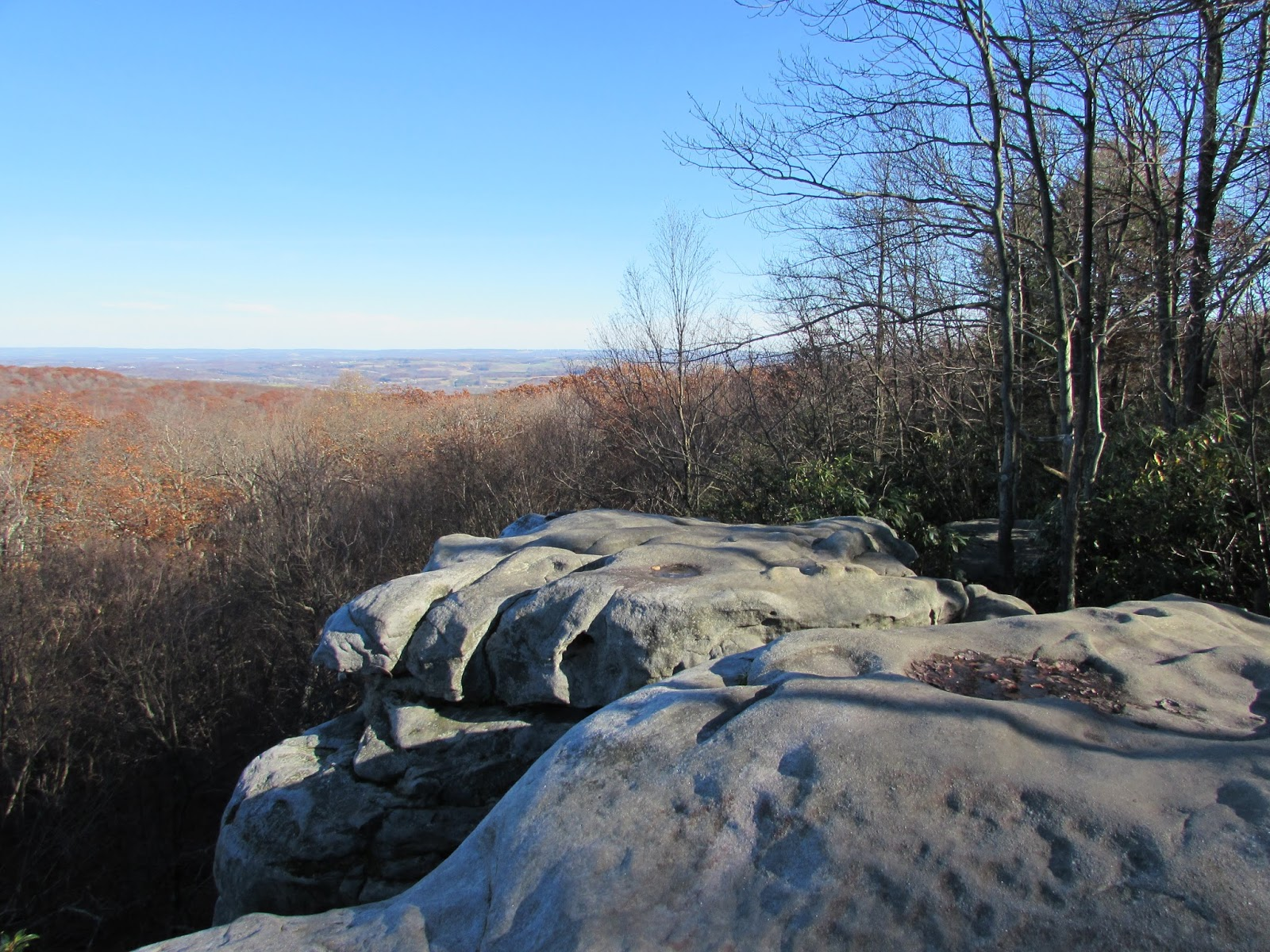Beam Rocks Overlook Hike And Linn Run State Park, Laughlintown, PA,  Somerset And Westmoreland Counties
