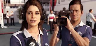 Claire - giornalista di F1 2018