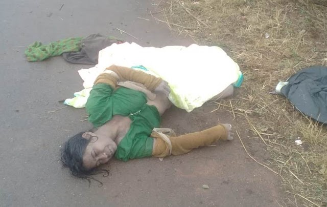 """बिग ब्रेकिंग पत्रवार्ता:- कडकडाती ठण्ड में लम्बू राम के गाँव से """"पहाड़ी कोरवा महिला"""" के  मौत की खबर ......"""
