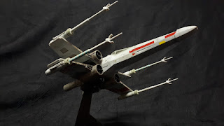 X-WING  Star Wars  Fine Molds au 1/72.