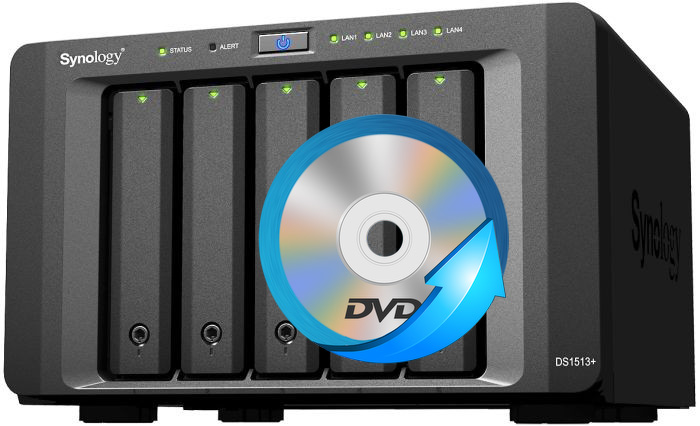 How to Store DVDs on Synology NAS Drive for Streaming