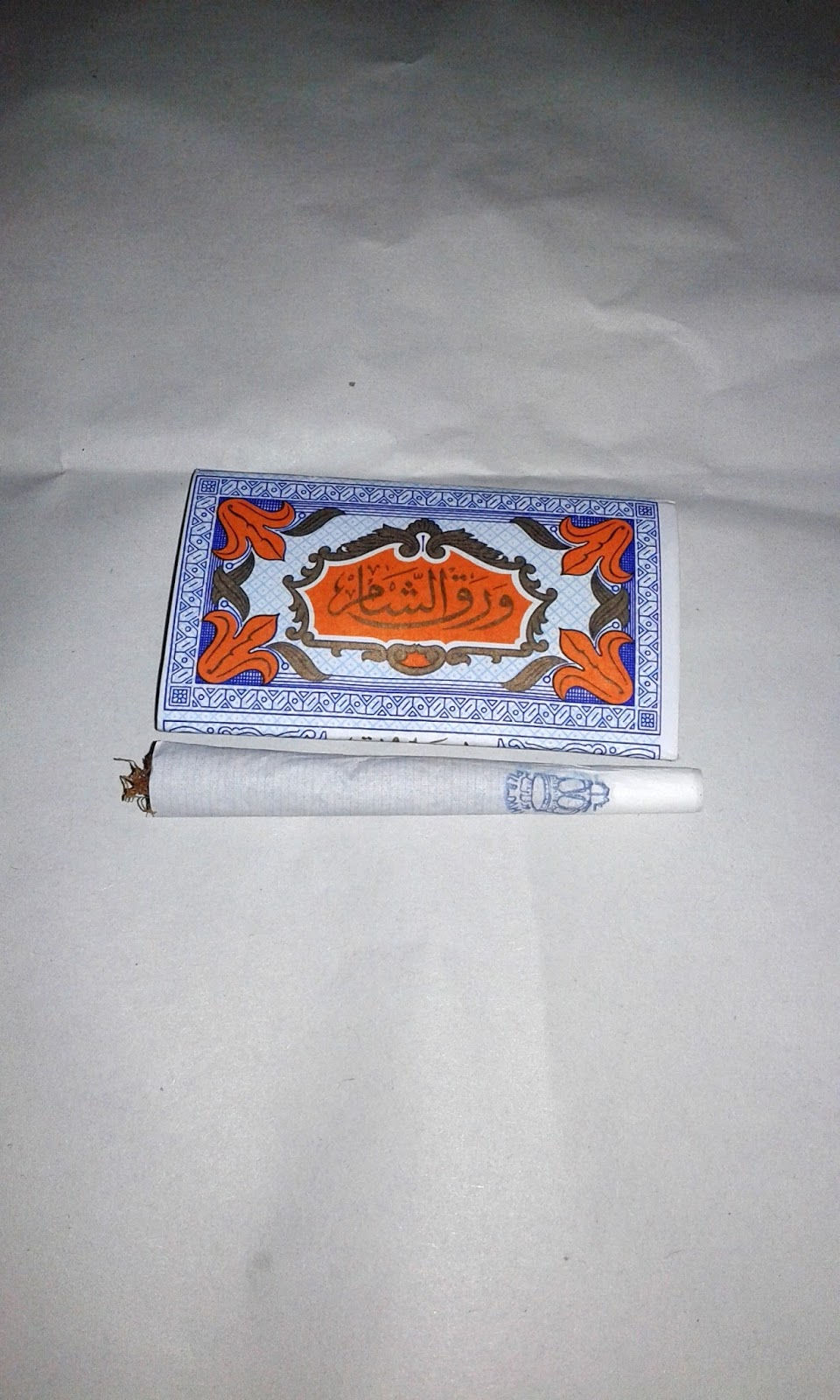 Natural Without Gum Arabic Hand Rolling Papers Regular 45 pack 60