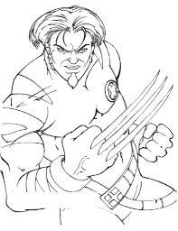 X-Men Coloring Pages For Print
