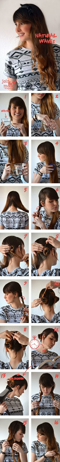 The Best Useful Hair Tutorials Ever, Natural Waves For Your Hair