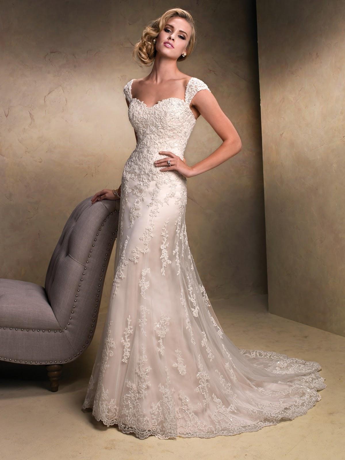 Lace Bridal Gowns Under 1000