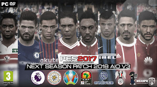 الاصدار الثالث من الباتش الرائع PES 2017 Next Season Patch v3 AIO 11-2-2018