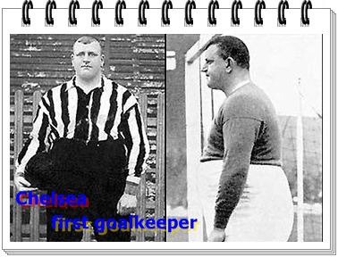 William Foulke penjaga gawang chelsea