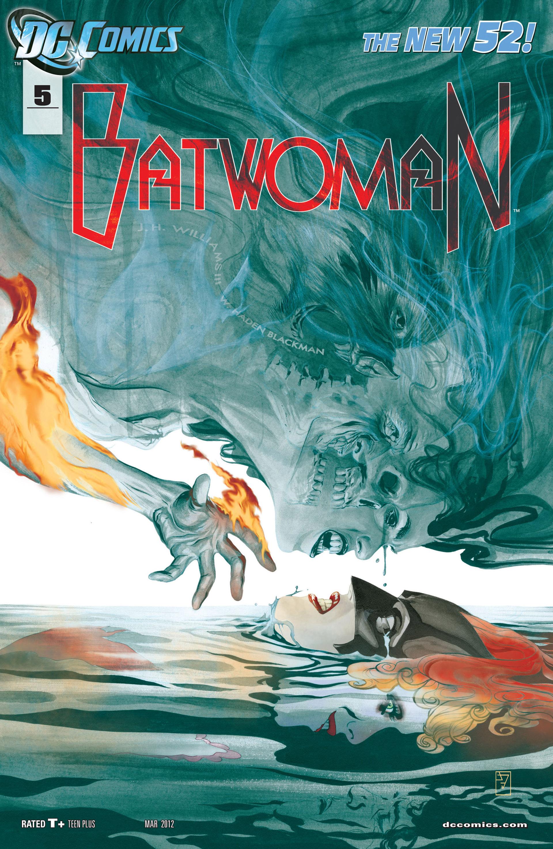 Batwoman (2011) 5 Page 1
