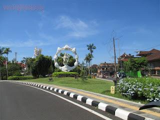 Tempat Wisata Taman Kota Ciung Wanara Gianyar Bali