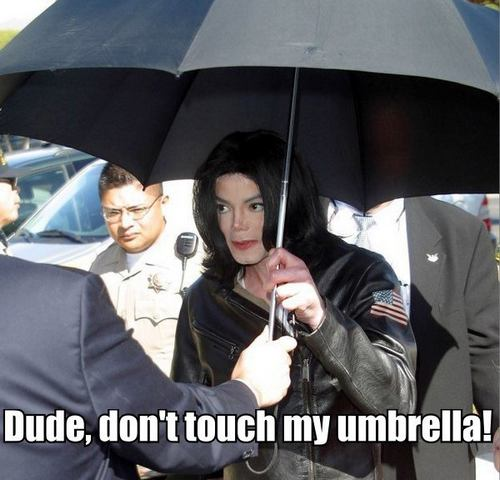 Michael Jackson Umbrella Meme