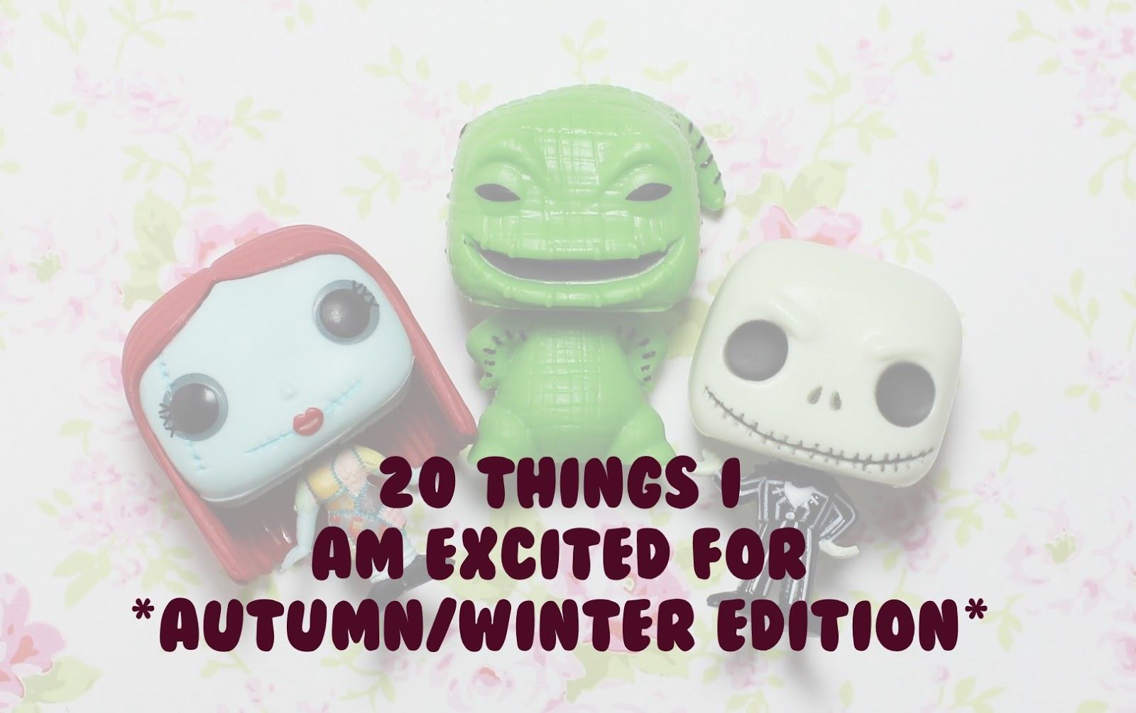 autumn winter things I am excited for