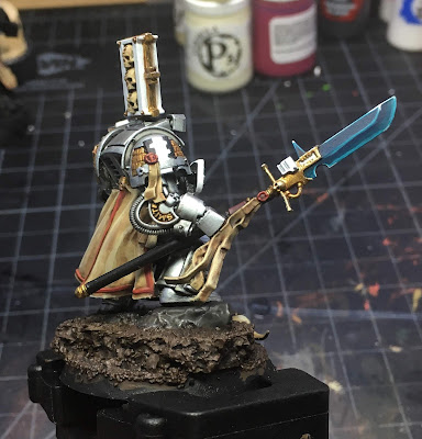 Grey Knights Brother Captain WIP right side