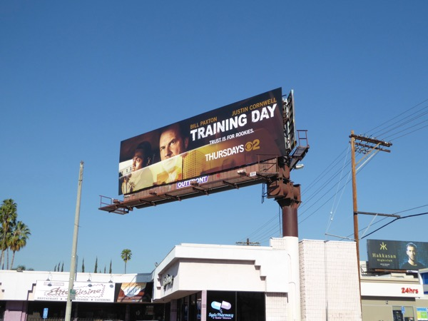 Training Day season 1 billboard