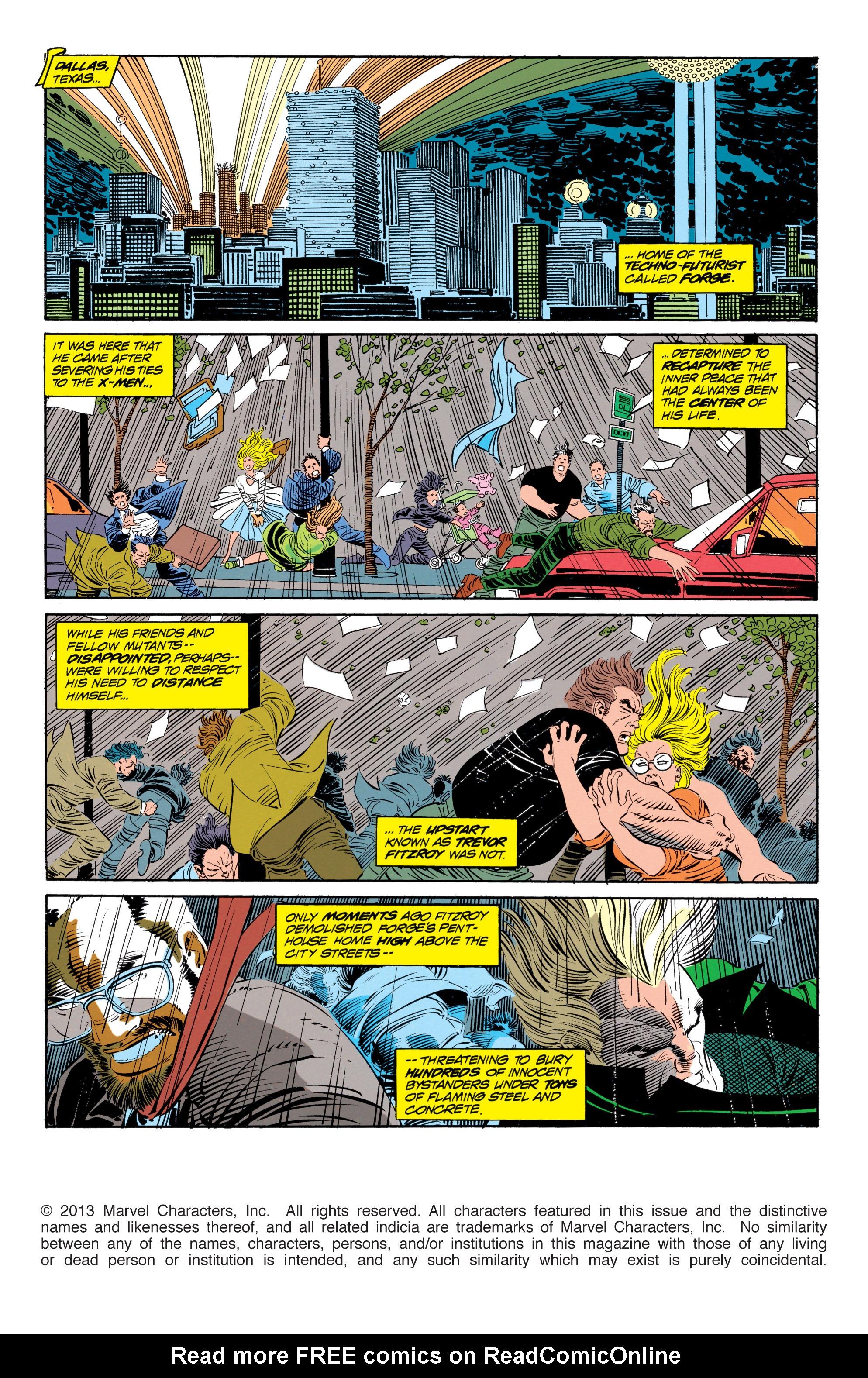Read online Uncanny X-Men (1963) comic -  Issue #302 - 2