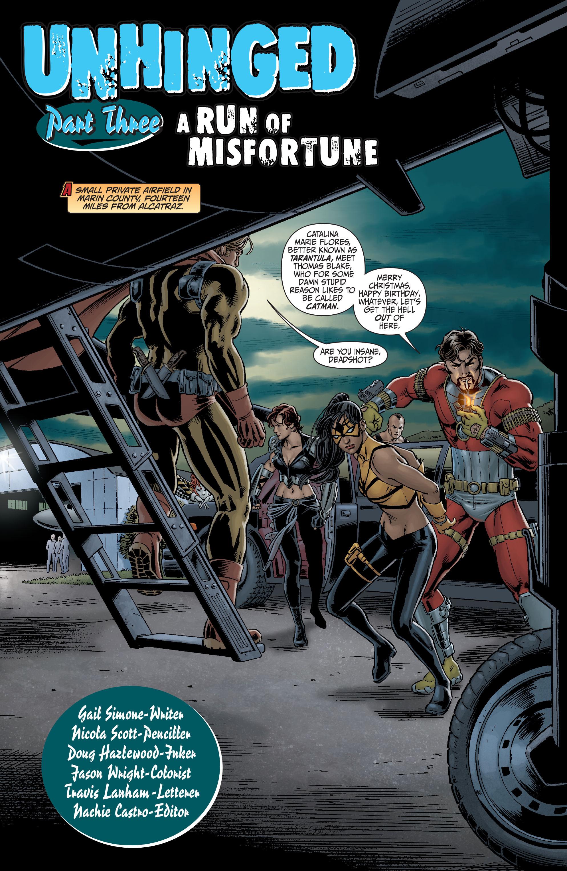 Read online Secret Six (2008) comic -  Issue #3 - 2