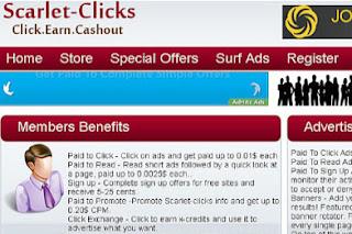 Scarlet-Clicks — płatne oglądanie reklam, minimum $ 2 USD, PayPal,  Payza, PM, płaci systematycznie od 2009 roku. Kliknij obrazek i przejdź  na oficjalną stronę Scarlet-Clicks