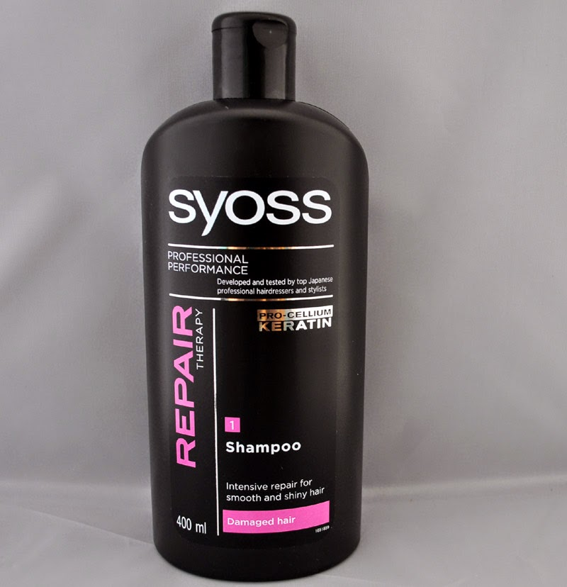 Hair Product Review Syoss Repair Therapy Shampoo And