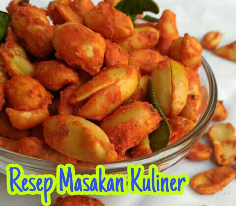 kacang thailand, resep kacang thailand, kacang thailand pedas manis, cara membuat kacang thailand,