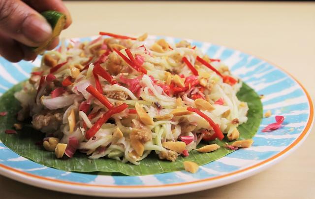 Resipi Kerabu Mangga Ala Thai