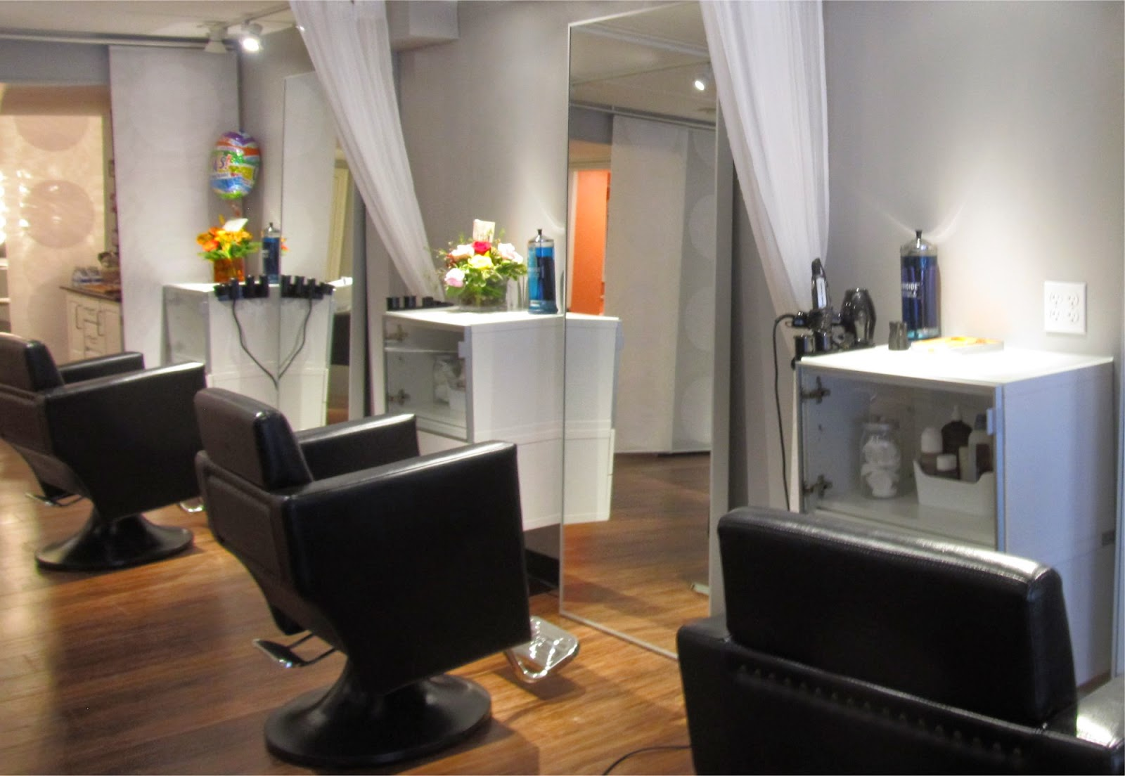 orange chair salon leather living room bedford mass what s new in retail opens on the features six stylist chairs