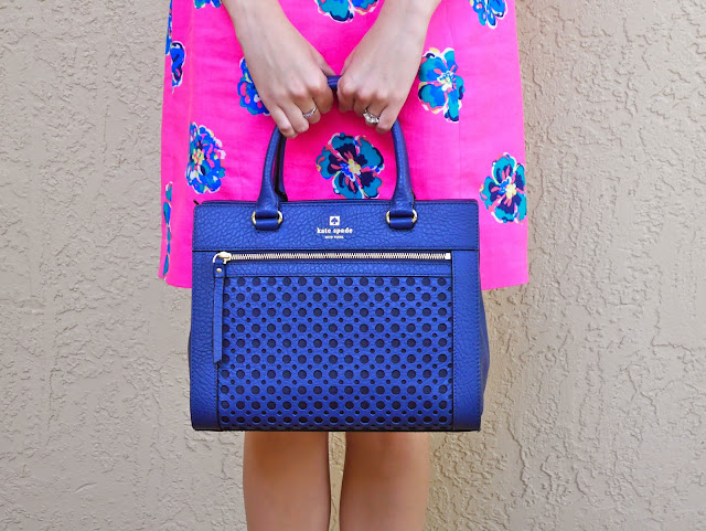 Kate Spade Lilly Pulitzer Navy and Pink