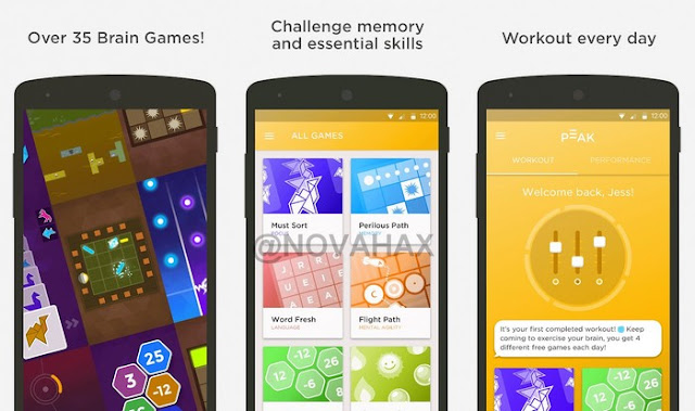 Peak Pro Brain Training Game for Android