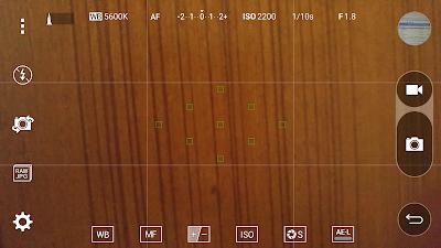 LG G4/G5 Camera app RAW shooting mode