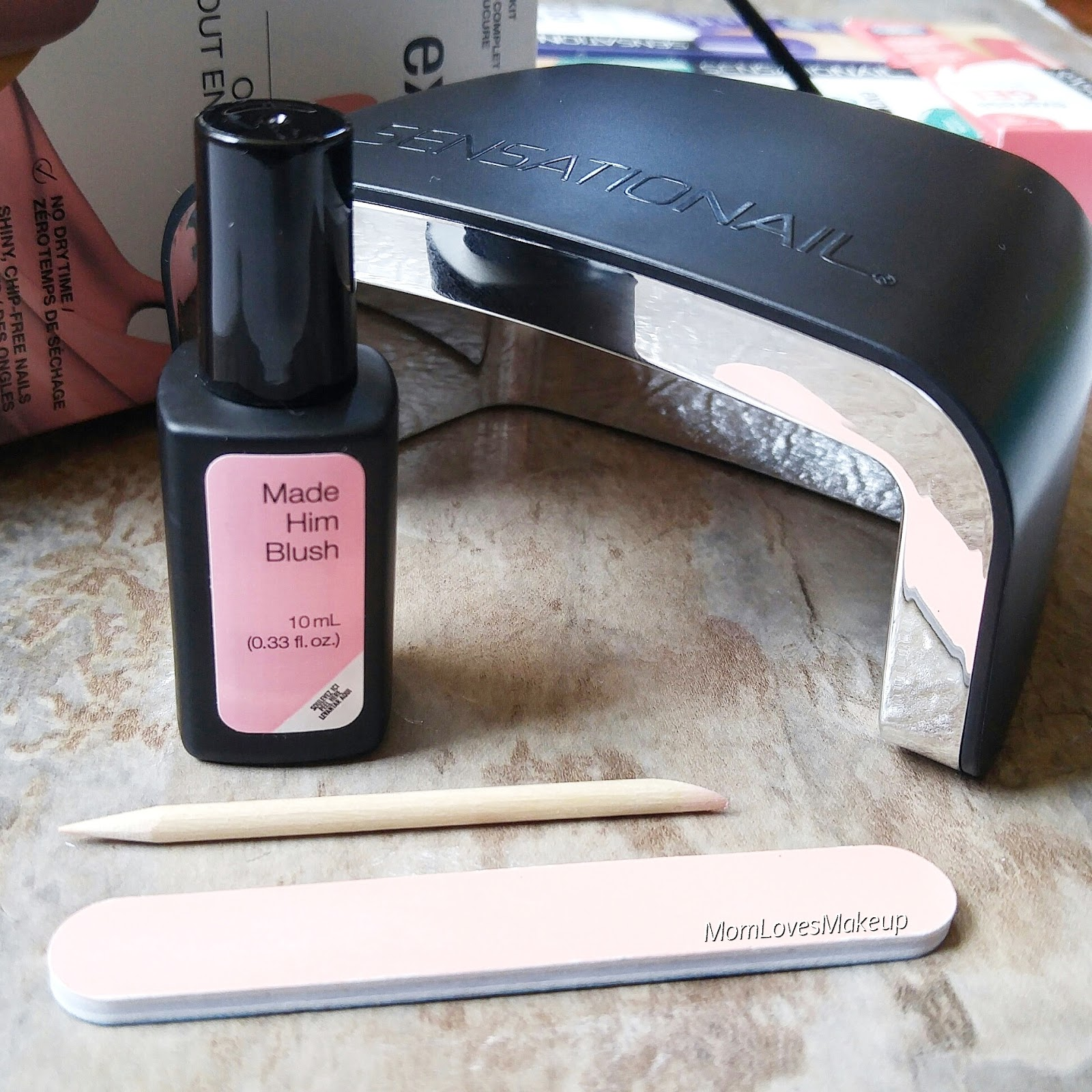 Best At Home Gel Nail Kit Reviews 2019: Mom Loves Makeup: Beginners Guide To An At Home Gel