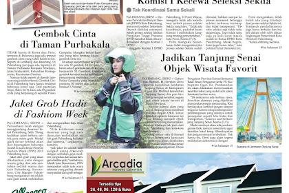 Hasil Liputan 'Gembok Cinta di Taman Purbakala'