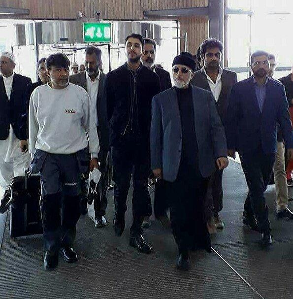 آصف شاہد: طاہر القادری لاہور پہنچ گئے، قصاص لینے کا اعلان