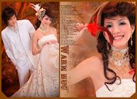 China Wedding Photos Editing PSD Templates