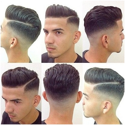 Potongan Rambut Pria Samping Belakang Tipis 5