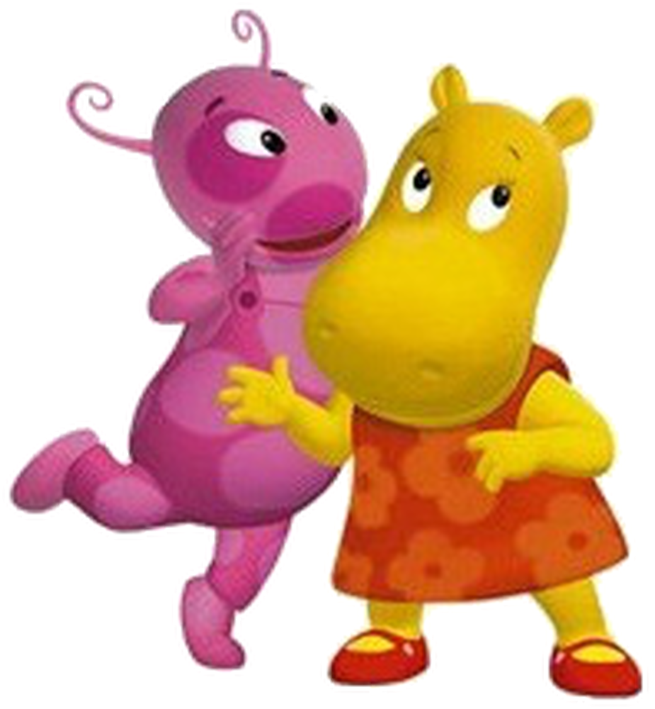 Cartoon Characters: The Backyardigans PNG pack