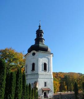 Крехів. Монастир св. Миколая. Верхня вежа