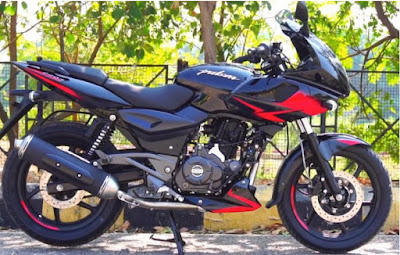 BAJAJ PULSAR 220F NEW 2019 MODEL WITH NEW C&G UPDATE