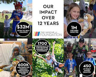 The #NASCAR Foundation - Our Impact Over 12 Years