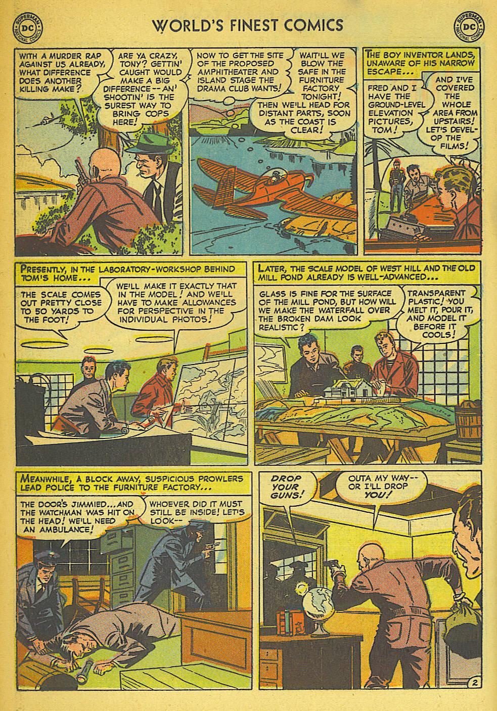 Read online World's Finest Comics comic -  Issue #57 - 42